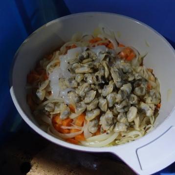 野菜と海鮮でとても良い香りでした